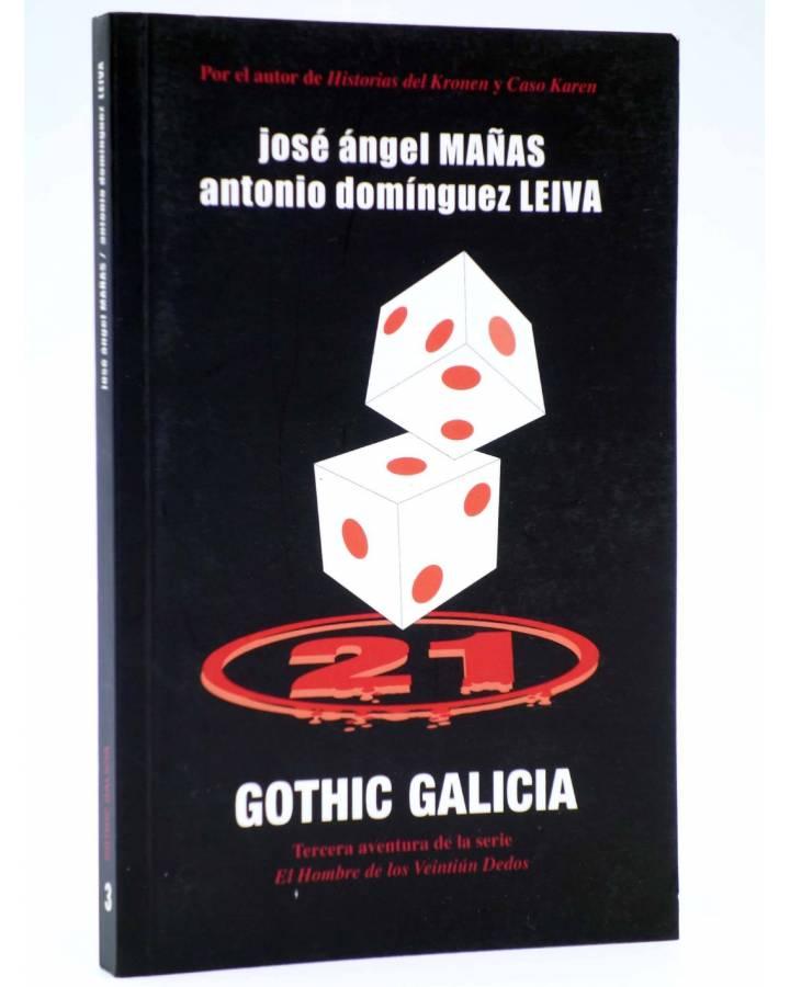 Cubierta de EL HOMBRE DE LOS VEINTIÚN DEDOS 3. GOTHIC GALICIA (Mañas / Leiva) Dolmen 2008