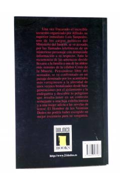 Contracubierta de EL HOMBRE DE LOS VEINTIÚN DEDOS 3. GOTHIC GALICIA (Mañas / Leiva) Dolmen 2008