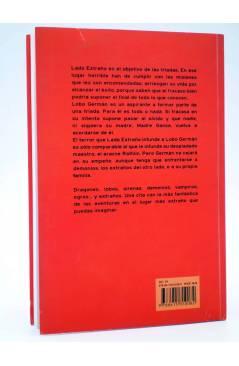 Contracubierta de SERIE FANTASÍA. LADO EXTRAÑO (J.E. Álamo) Ilarión 2013