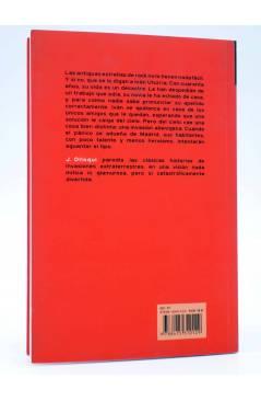 Contracubierta de SERIE FANTASÍA. ¡MALDITOS TERRÍCOLAS! (J. Olloqui) Ilarión 2013