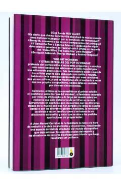 Contracubierta de ONE HIT WONDERS Y OTRAS ESTRELLAS DEL POP OLVIDADAS (Juan M. Corral) T&B 2009