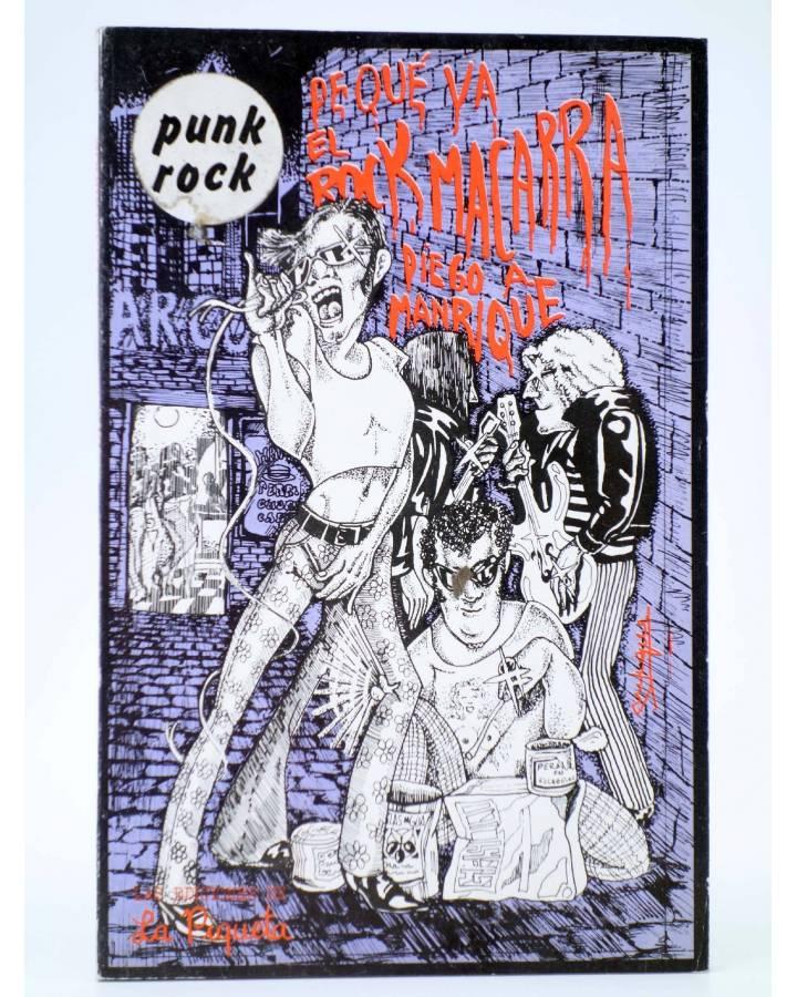 Cubierta de DE QUE VA 2. DE QUE VA EL ROCK MACARRA (Diego A. Manrique) La Piqueta 1977