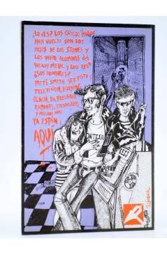 Contracubierta de DE QUE VA 2. DE QUE VA EL ROCK MACARRA (Diego A. Manrique) La Piqueta 1977