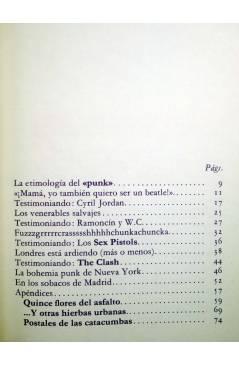 Muestra 1 de DE QUE VA 2. DE QUE VA EL ROCK MACARRA (Diego A. Manrique) La Piqueta 1977