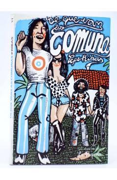 Cubierta de DE QUE VA 6. DE QUE VAN LAS COMUNAS (Pepe Ribas) La Piqueta 1980