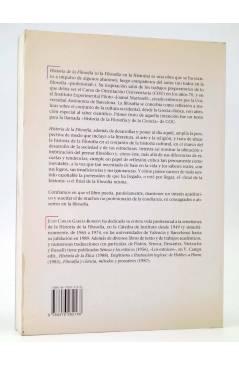 Contracubierta de LA ESTRELLA POLAR 9. HISTORIA DE LA FILOSOFÍA II. EDAD MEDIA RENACIMIENTO Y BARROCO (Juan Carlos Garcí