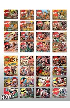 Muestra 1 de BENGALA 1 A 54. COMPLETA. MAGA 1959 (Quesada / Ortiz) Comic MAM Circa 1980. REEDICIÓN FACSIMIL