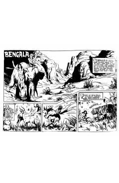 Muestra 4 de BENGALA 1 A 54. COMPLETA. MAGA 1959 (Quesada / Ortiz) Comic MAM Circa 1980. REEDICIÓN FACSIMIL