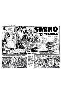 Muestra 1 de JARKO EL TEMIBLE 1 A 20. COMPLETA. GRAFIDEA 1958 (P. Muñoz) Comic MAM Circa 1980. FACSIMIL