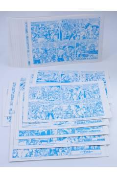 Contracubierta de EL CHACAL 1 A 20. COMPLETA. MARCO 1949 (Jean Martínez) Comic MAM Circa 1980. FACSIMIL