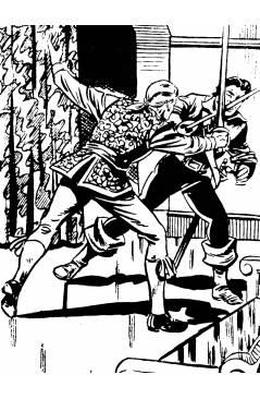 Muestra 4 de EL CHACAL 1 A 20. COMPLETA. MARCO 1949 (Jean Martínez) Comic MAM Circa 1980. FACSIMIL