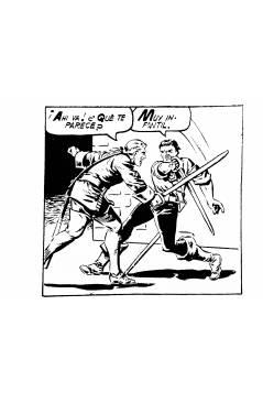 Muestra 5 de EL CHACAL 1 A 20. COMPLETA. MARCO 1949 (Jean Martínez) Comic MAM Circa 1980. FACSIMIL