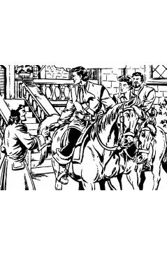 Muestra 7 de EL CHACAL 1 A 20. COMPLETA. MARCO 1949 (Jean Martínez) Comic MAM Circa 1980. FACSIMIL