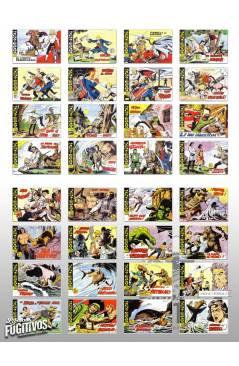 Contracubierta de HACHA Y ESPADA 1 A 58. COMPLETA. MAGA 1962 (Armando) Comic MAM Circa 1980. FACSIMIL