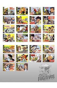 Muestra 1 de HACHA Y ESPADA 1 A 58. COMPLETA. MAGA 1962 (Armando) Comic MAM Circa 1980. FACSIMIL