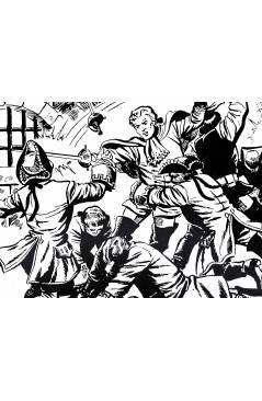 Muestra 8 de HACHA Y ESPADA 1 A 58. COMPLETA. MAGA 1962 (Armando) Comic MAM Circa 1980. FACSIMIL