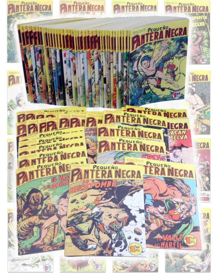 Cubierta de PANTERA NEGRA VERTICAL 55 A 124. COMPLETA 70 NºS. MAGA (P. Y M. Quesada) Comic MAM Circa 1980. FACSIMIL