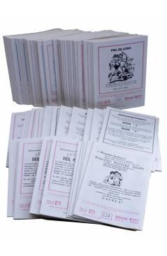 Contracubierta de PANTERA NEGRA VERTICAL 55 A 124. COMPLETA 70 NºS. MAGA (P. Y M. Quesada) Comic MAM Circa 1980. FACSIMI