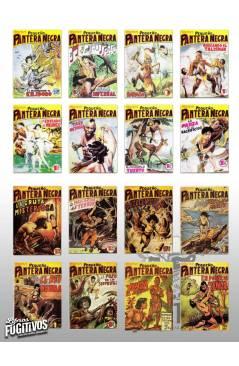 Muestra 2 de PANTERA NEGRA VERTICAL 55 A 124. COMPLETA 70 NºS. MAGA (P. Y M. Quesada) Comic MAM Circa 1980. FACSIMIL