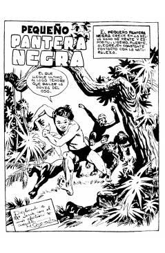 Muestra 6 de PANTERA NEGRA VERTICAL 55 A 124. COMPLETA 70 NºS. MAGA (P. Y M. Quesada) Comic MAM Circa 1980. FACSIMIL