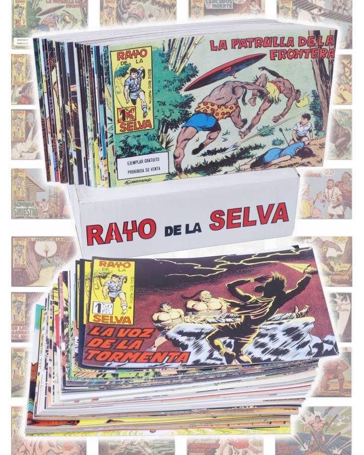 Cubierta de RAYO DE LA SELVA 1 A 83. COMPLETA. MAGA 1960 (Guerrerro / Segrelles) Comic MAM Circa 1980. FACSIMIL