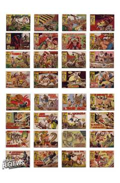 Muestra 2 de RAYO DE LA SELVA 1 A 83. COMPLETA. MAGA 1960 (Guerrerro / Segrelles) Comic MAM Circa 1980. FACSIMIL