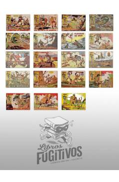 Muestra 3 de RAYO DE LA SELVA 1 A 83. COMPLETA. MAGA 1960 (Guerrerro / Segrelles) Comic MAM Circa 1980. FACSIMIL
