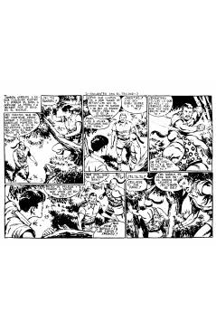 Muestra 5 de RAYO DE LA SELVA 1 A 83. COMPLETA. MAGA 1960 (Guerrerro / Segrelles) Comic MAM Circa 1980. FACSIMIL