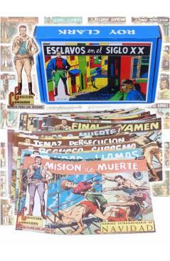 Cubierta de ROY CLARK 1 A 26. COMPLETA. VALENCIANA 1959 (Vvaa) Comic MAM Circa 1980. FACSIMIL