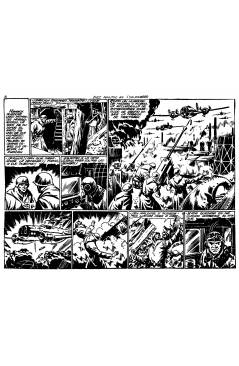 Muestra 8 de HAZAÑAS BÉLICAS 1 A 319. COMPLETA. TORAY 1950 (Vvaa) Comic MAM Circa 1980. REEDICIÓN FACSIMIL