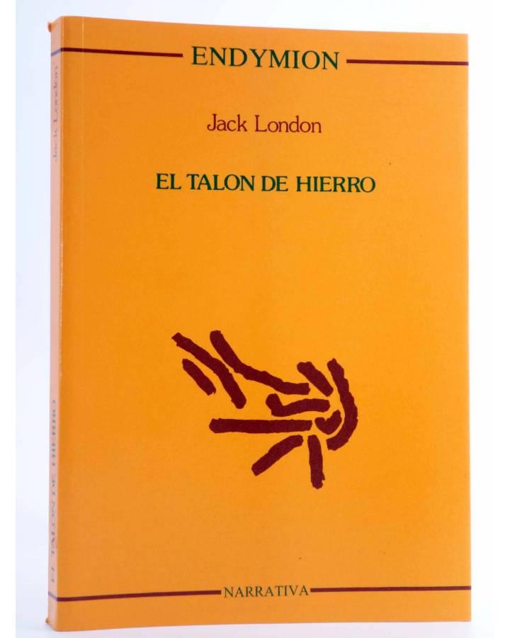 Cubierta de EL TALÓN DE HIERRO (Jack London) Endymion 1997