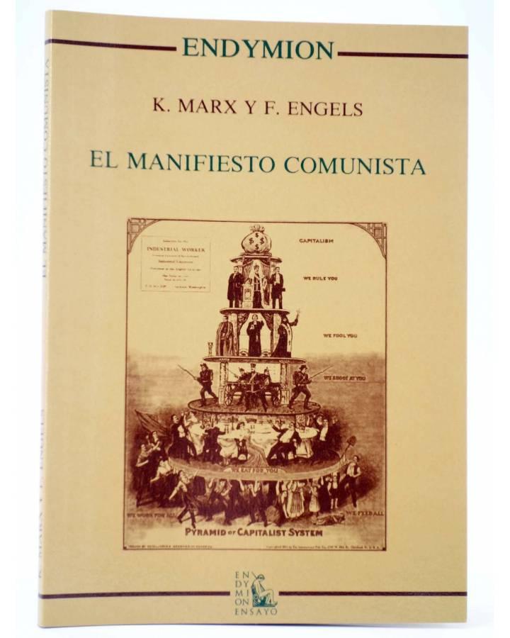 Cubierta de EL MANIFIESTO COMUNISTA (Karl Marx / Engels) Endymion 1987