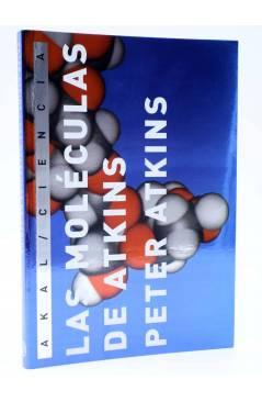 Cubierta de LAS MOLÉCULAS DE ATKINS (Peter Atkins) Akal 2007