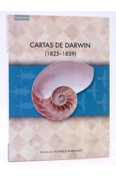 Cubierta de CARTAS DE DARWIN 1825-1859 (Charles Darwin) Cambridge University Press 1999