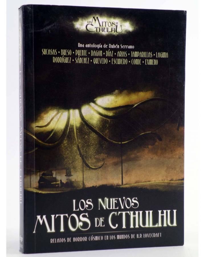 Cubierta de LOS NUEVOS MITOS DE CTHULHU (Vvaa) Edge 2011