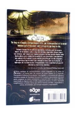 Contracubierta de LOS NUEVOS MITOS DE CTHULHU (Vvaa) Edge 2011