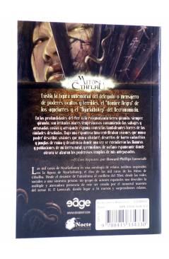 Contracubierta de LAS MIL CARAS DE NYARLATHOTEP (Vvaa) Edge 2012