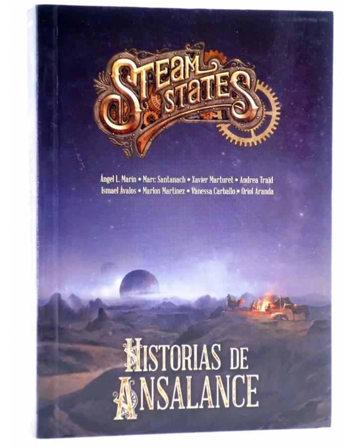 Cubierta de STEAM STATES: HISTORIAS DE ANSALANCE (Vvaa) Edge 2014