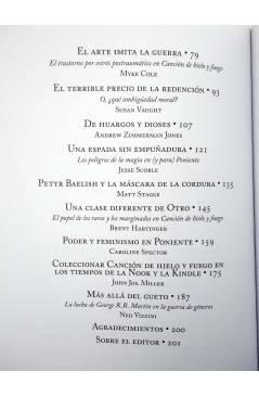 Muestra 2 de MÁS ALLÁ DEL MURO. EXPLORANDO JUEGO DE TRONOS (James Lowder) Edge 2012