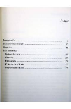 Muestra 1 de CASTALIA PRIMA 18. EL CURIOSO IMPERTINENTE / EL CAUTIVO (Miguel De Cervantes) Castalia 2002