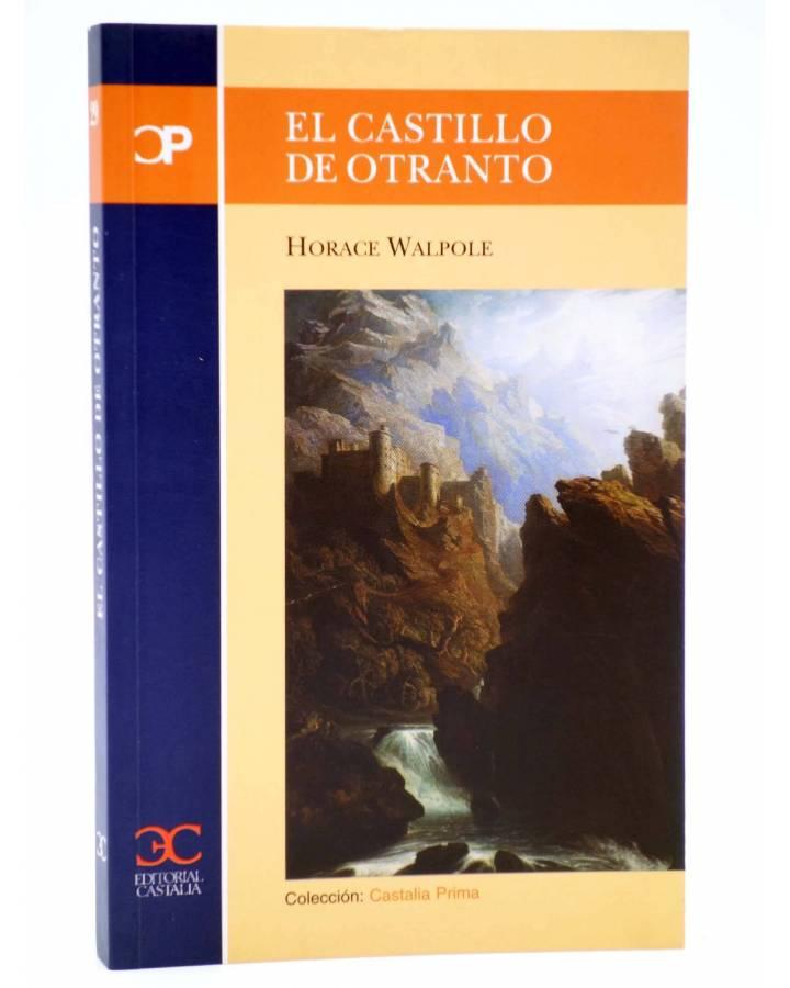 Cubierta de CASTALIA PRIMA 29. EL CASTILLO DE OTRANTO (Horace Walpole) Castalia 2004