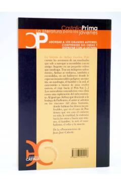 Contracubierta de CASTALIA PRIMA 45. LA HISTORIA DE ARTHUR GORDON PYM (Edgar Allan Poe) Castalia 2007