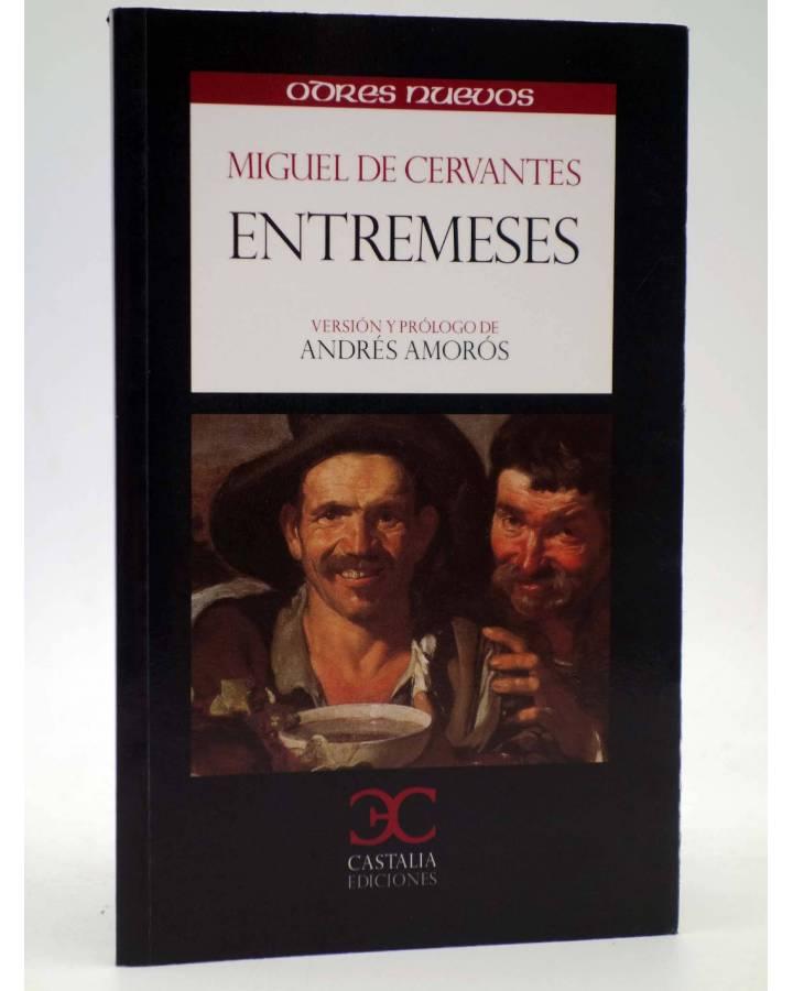 Cubierta de ENTREMESES (Miguel De Cervantes) Castalia 2012