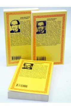 Contracubierta de NOVELAS EJEMPLARES I II II. OBRA COMPLETA (Miguel De Cervantes) Castalia 1992