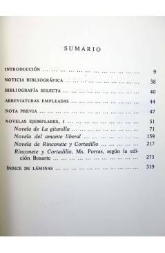 Muestra 1 de NOVELAS EJEMPLARES I II II. OBRA COMPLETA (Miguel De Cervantes) Castalia 1992