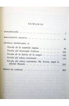Muestra 2 de NOVELAS EJEMPLARES I II II. OBRA COMPLETA (Miguel De Cervantes) Castalia 1992