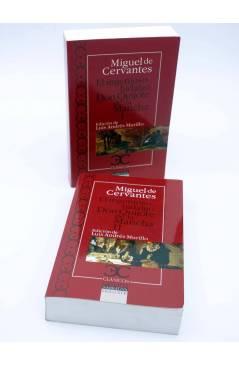 Contracubierta de CASTALIA CLÁSICOS 77 78. DON QUIJOTE DE LA MANCHA. 2 VOLS (Miguel De Cervantes) Castalia 2010