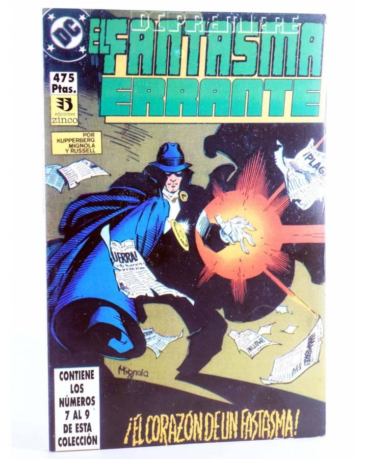 Cubierta de DC PREMIERE RETAPADO NºS 7 8 9. EL FANTASMA ERRANTE (Mignola / Craig Russell) Zinco 1990