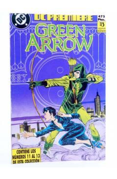 Cubierta de DC PREMIERE RETAPADO NºS 11 12 13. GREEN ARROW (Dematteis / Badger) Zinco 1990