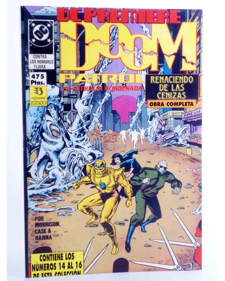 Cubierta de DC PREMIERE RETAPADO Nº 14 15 16. DOOM PATROL PATRULLA CONDENADA (Morrison / Case) Zinco 1990